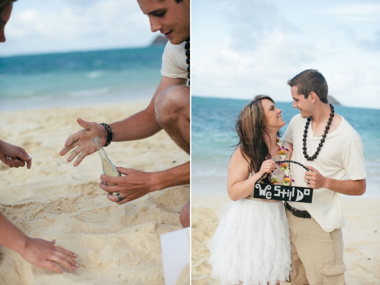 Vows To Each Other And Me Capturing It For Their 5 Year Anniversary Was The Sweetest I Hy Capture At Lanikai Beach Between
